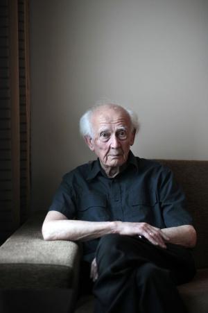 El sociólogo polaco Zygmunt Bauman, el sábado en Madrid.