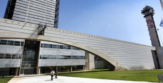 Centro de producción de la Radio Televisión Valenciana (Canal 9) en Burjassot (Valencia).