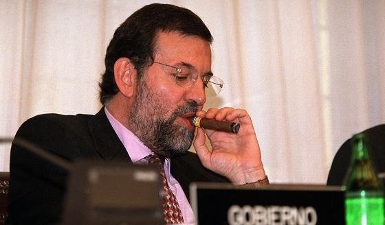 El entonces vicepresidente y ministro del Interior, Mariano Rajoy, en 2001.