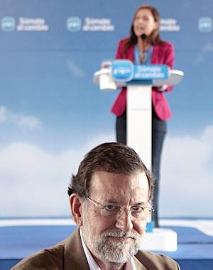 Rajoy, en Tenerife.