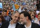 Rajoy, en Valencia sin Camps
