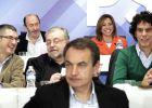 Zapatero exige a Rubalcaba y Chacón un debate ejemplar y limpio