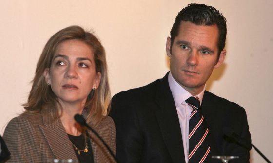 The Duke of Palma, Iñaki Urdangarin, and his wife, Princess Cristina, in a photo from 2007.