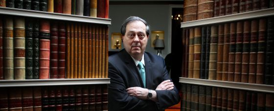 El presidente de la Comisión Internacional de Juristas, Pedro Nikken, en Madrid.