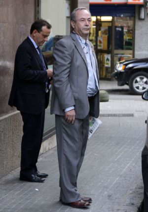 El juez José Castro; detrás, el fiscal Antonio Horrach.
