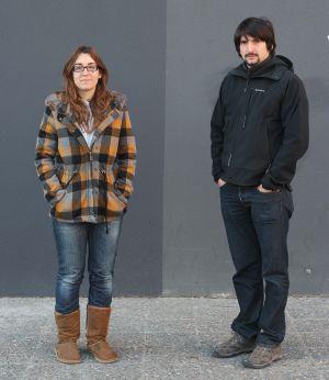 Mar López, profesora, y Andreu Arnavat, estudiante: dos 'nimileuristas' de Girona.