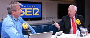 Margallo, durante la entrevista en la Cadena SER.