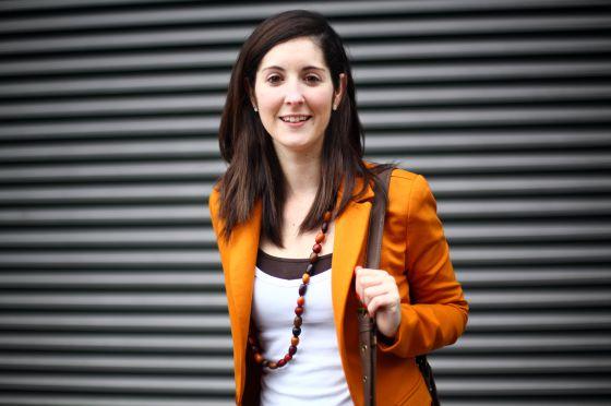 Sara González, ingeniera de 26 años que trabaja en Reino Unido.