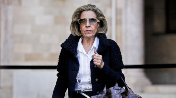 La magistrada Margarita Beltrán.
