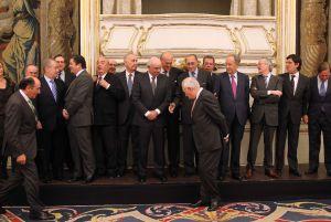 Margallo, en un acto con empresarios para promocionar la marca España, el pasado 27 de enero.