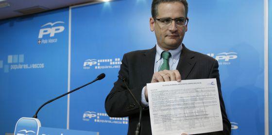 Basagoiti da por roto el pacto en Euskadi