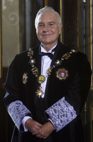 Carlos Dívar, en su toma de posesión como presidente del Consejo.