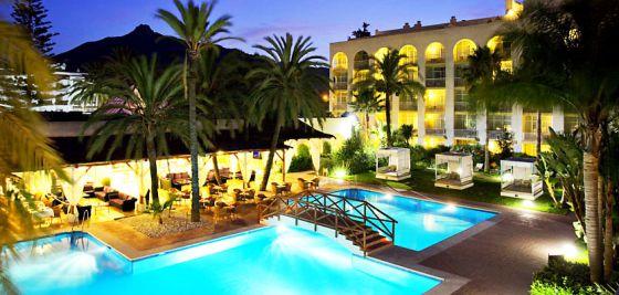 El hotel en el que suele alojarse Dívar.