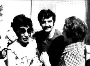 Miguel Ángel Apalategui, Apala, tras ser excarcelado en Aix-en-Provence en 1977.