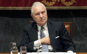 El presidente del Poder Judicial, Carlos Dívar.