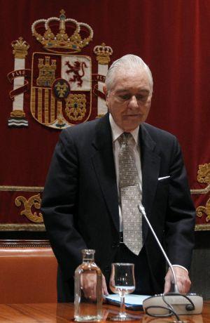Carlos Dívar, el pasado día 31 de mayo.