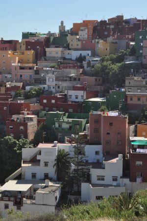 El barrio de El Príncipe en Ceuta.