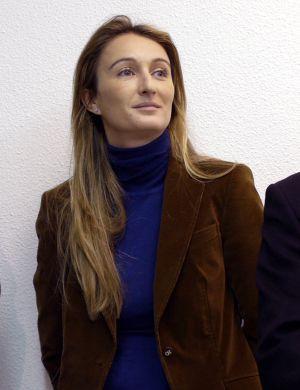Andrea Fabra, en una imagen de archivo.