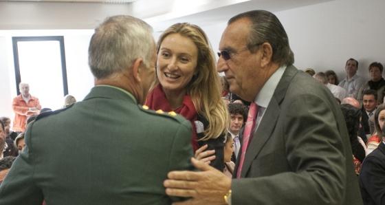 Carlos y Andrea Fabra, enl pasado mes de abril.
