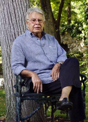 El expresidente del Gobierno Felipe González, en una casa en El Escorial (Madrid).
