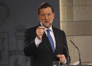 Mariano Rajoy, en la rueda de prensa tras el Consejo de Ministros.