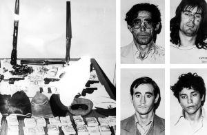 Cuatro de los 45 fugitivos que se escaparon de La Modelo, en 1978