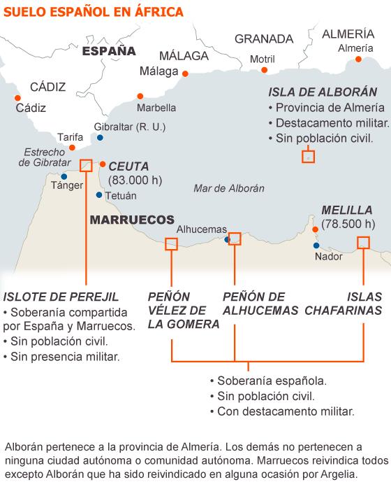 Llegada de inmigrantes a islote españoles en suelo Africano 1345911736_115632_1346246867_sumario_normal