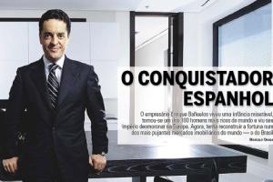 Bañuelos, en la portada de la revista brasileña 'Exame'.