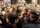 Tensión en el pleno por una protesta de funcionarios