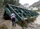 Tres muertos y un desaparecido por las fuertes lluvias en Murcia