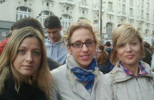 Montse Fernández, Silvia Llopis y Vanessa Fernández.