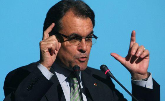 Artur Mas, en la Cámara de Comercio de Tarragona.