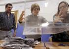 Gallegos y vascos apuraron las últimas horas para ir a votar