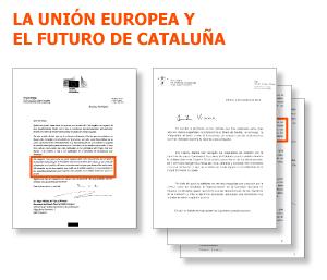 La Comisión Europea asume las tesis de Rajoy sobre una Cataluña fuera de la UE