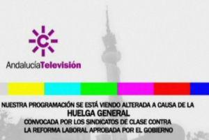 Las televisiones públicas, 'en negro'