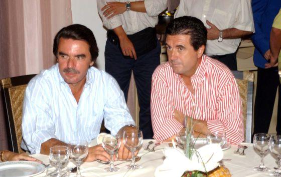 José María Aznar y Jaume Matas, en una imagen de archivo.