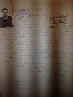 Carta enviada por Fructuoso Salvoch. (Pincha para verla entera)