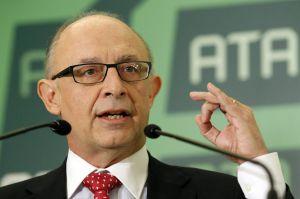 Cristóbal Montoro, durante su intervención, hoy, en el acto de entrega del premio Autónomo del año.