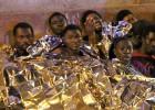 Subsaharianos saltan la valla de Melilla