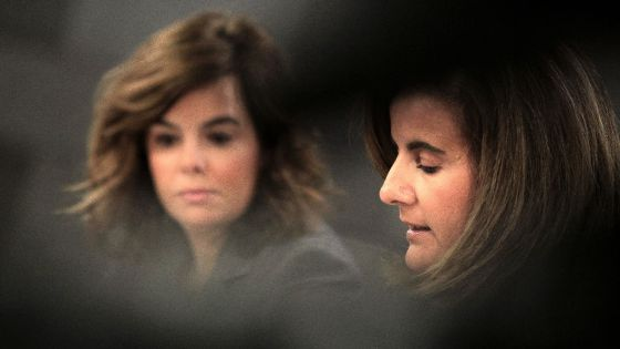 Santamaría y Báñez, tras el Consejo de Ministros del 30 de noviembre.