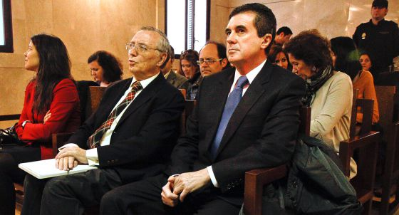 Jaume Matas, expresidente balear, durante el juicio por el caso Palma Arena.