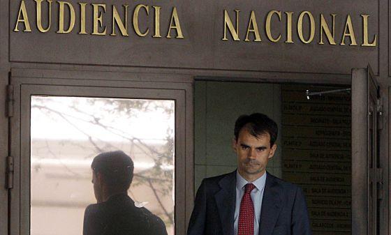 Pablo Ruz, en la Audiencia Nacional, el pasado agosto.