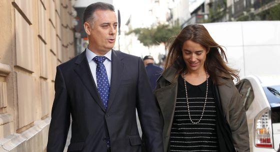 Alberto López Viejo llega a la Audiencia Nacional el pasado octubre.