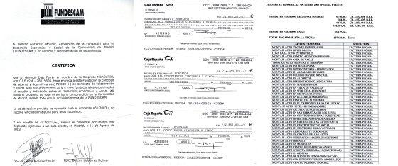 En el sumario del 'caso Gürtel' figura documentación que obra en poder del PP sobre donaciones a su fundación madrileña que acabaron supuestamente financiando actos electorales, algo prohibido por ley.