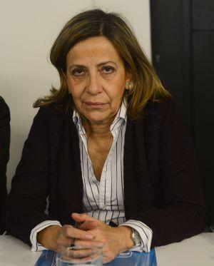 Carmen Navarro, actual tesorera.