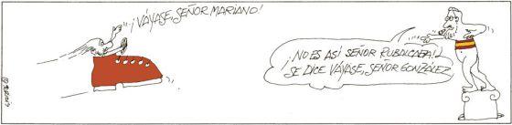 """""""Rajoy es un lastre. Debe abandonar"""""""