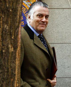 Luis Bárcenas, la pasada semana en Madrid.