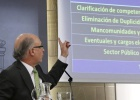 "Montoro: ""Los power point de ideas... me gustan los de curvas"""