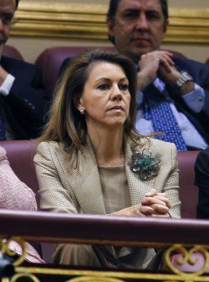 La presidenta de Castilla-La Mancha, Dolores de Cospedal.