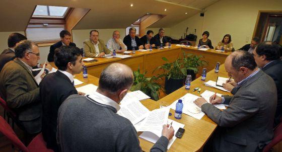 Reunión de la Federación Gallega de Municipios y Provincias.